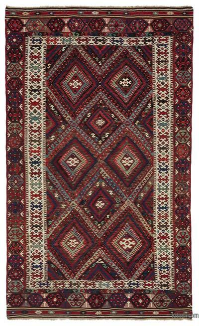 Vintage Fethiye Kilim Rug