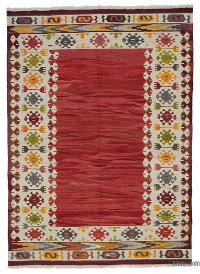 "New Turkish Kilim Rug - 8' 5"" x 11' 6"" (101 in. x 138 in.)"