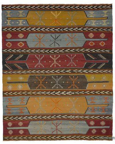 Vintage Sivas Kilim Rug