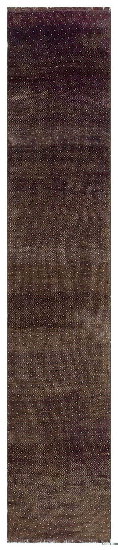 Alfombra Turca Vintage de Pasillo - 68 cm x 344 cm