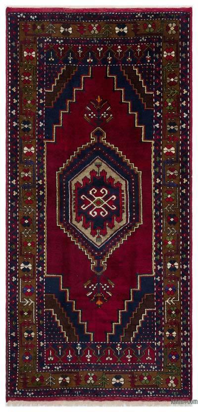 Alfombra Turca Vintage - 103 cm x 215 cm