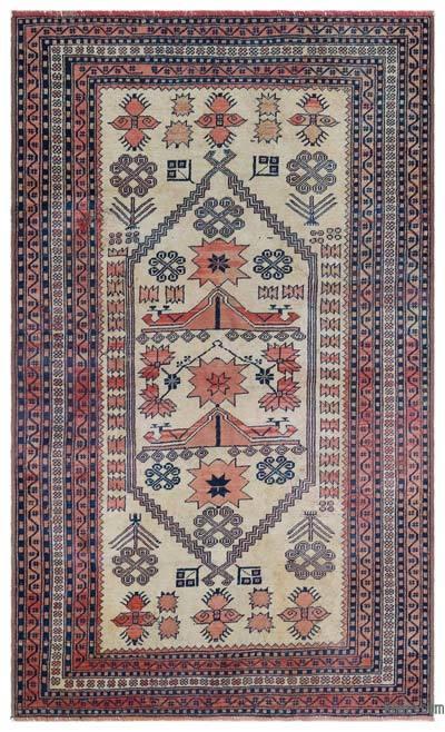 Alfombra Turca Vintage - 118 cm x 202 cm