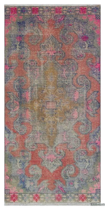 Alfombra Turca Vintage - 110 cm x 218 cm