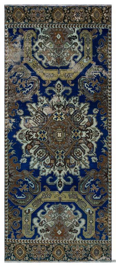 """Vintage Turkish Hand-Knotted Rug - Anatoli - 3' 10"""" x 8' 11"""" (46 in. x 107 in.)"""