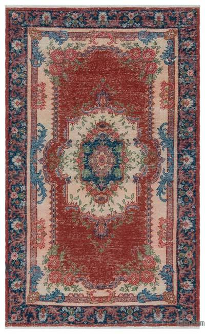 "Turkish Vintage Area Rug - 3'9"" x 6'2"" (45 in. x 74 in.)"