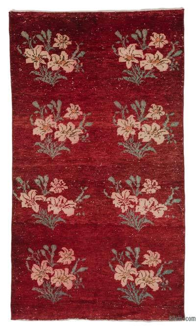 "Turkish Vintage Area Rug - 3'6"" x 6'1"" (42 in. x 73 in.)"