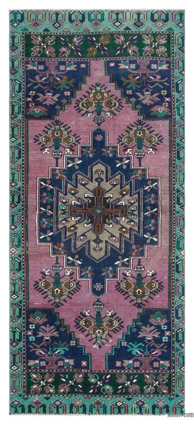"Turkish Vintage Area Rug - 3'  x 6' 10"" (36 in. x 82 in.)"
