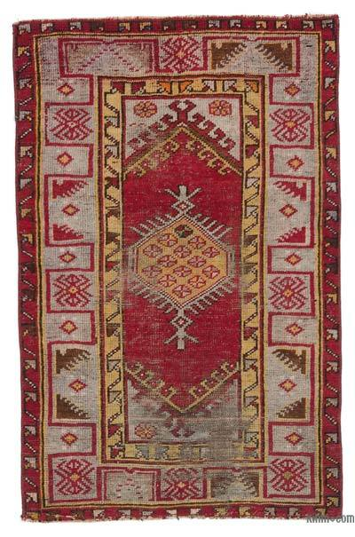 "Turkish Vintage Area Rug - 2'7"" x 3'11"" (31 in. x 47 in.)"