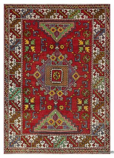 "Turkish Vintage Area Rug - 4'5"" x 6' (53 in. x 72 in.)"