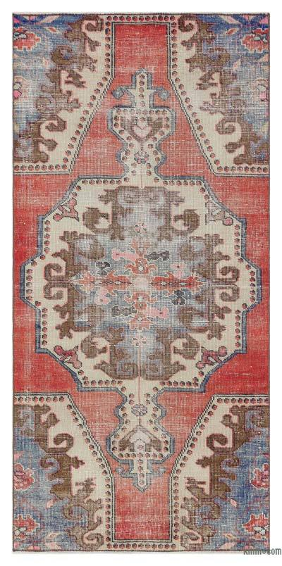"Turkish Vintage Area Rug - 3'2"" x 6'11"" (38 in. x 83 in.)"