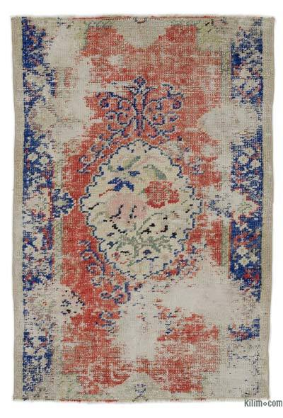 "Turkish Vintage Area Rug - 2'7"" x 3'10"" (31 in. x 46 in.)"