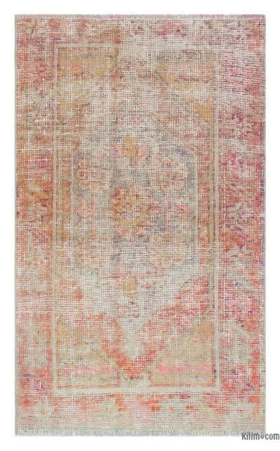 El Dokuma Vintage Halı - 80 cm x 130 cm