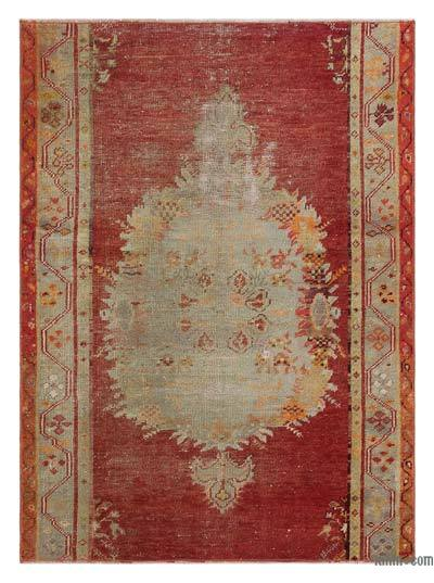 "Turkish Vintage Area Rug - 3'2"" x 4'3"" (38 in. x 51 in.)"