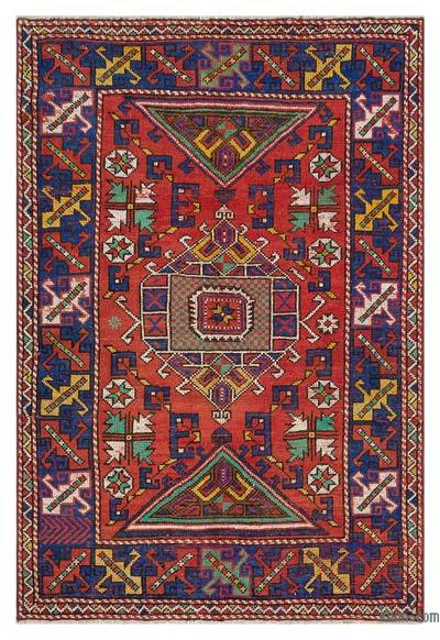 "Turkish Vintage Area Rug - 4' x 5'8"" (48 in. x 68 in.)"