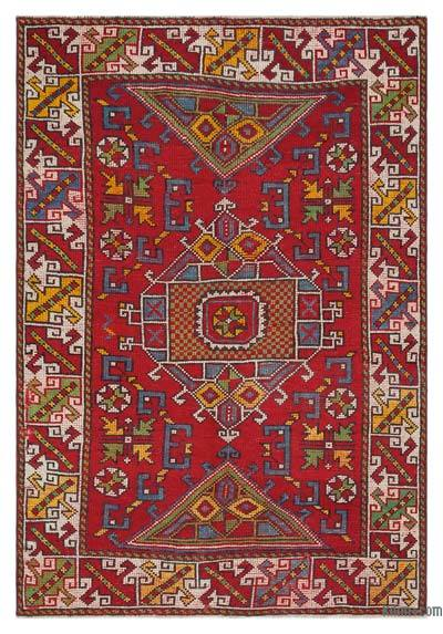 "Turkish Vintage Area Rug - 3'11"" x 5'9"" (47 in. x 69 in.)"