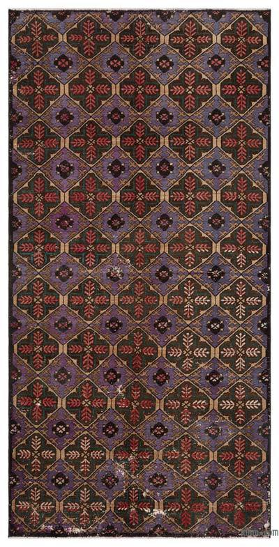 """Turkish Vintage Area Rug - 4' 11"""" x 10'  (59 in. x 120 in.)"""
