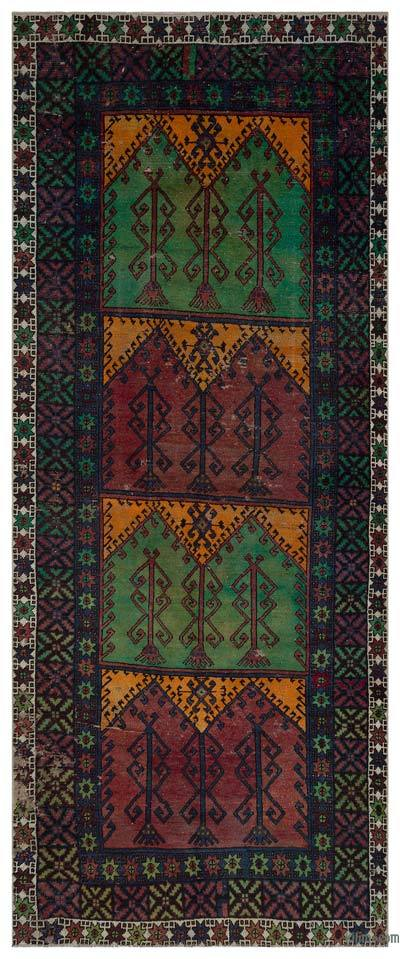 "Turkish Vintage Area Rug - 4'11"" x 11'10"" (59 in. x 142 in.)"