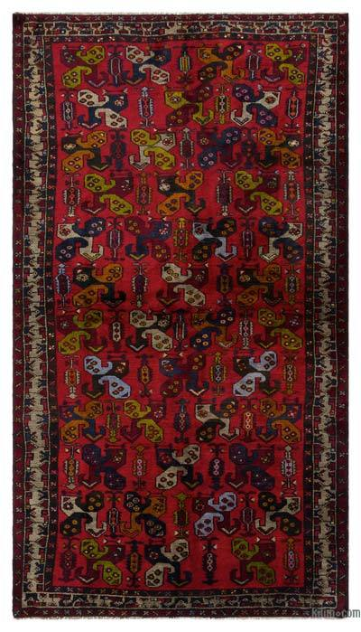 """Turkish Vintage Area Rug - 4'3"""" x 7'5"""" (51 in. x 89 in.)"""