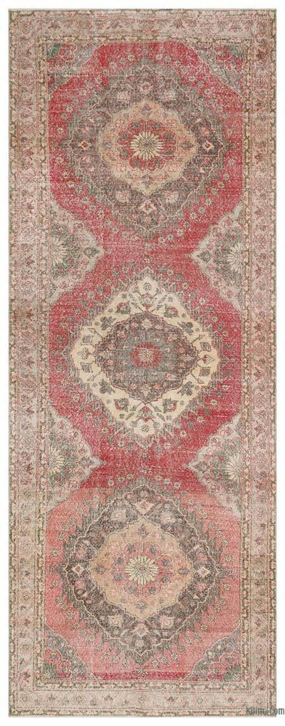 Vintage Anadolu Yolluk - 148 cm x 388 cm