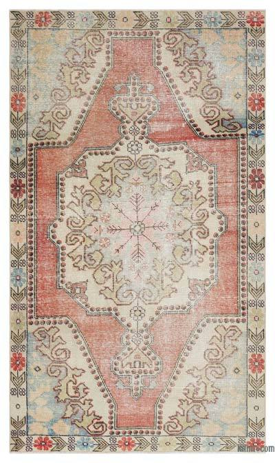 "Turkish Vintage Area Rug - 4'3"" x 7'2"" (51 in. x 86 in.)"