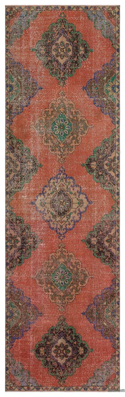 Vintage Anadolu Yolluk - 106 cm x 352 cm
