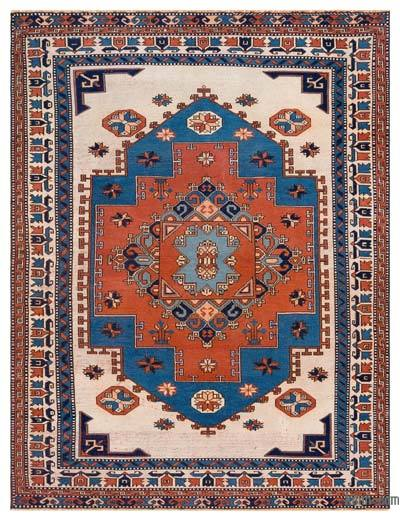 "Turkish Vintage Area Rug - 5'11"" x 7'6"" (71 in. x 90 in.)"