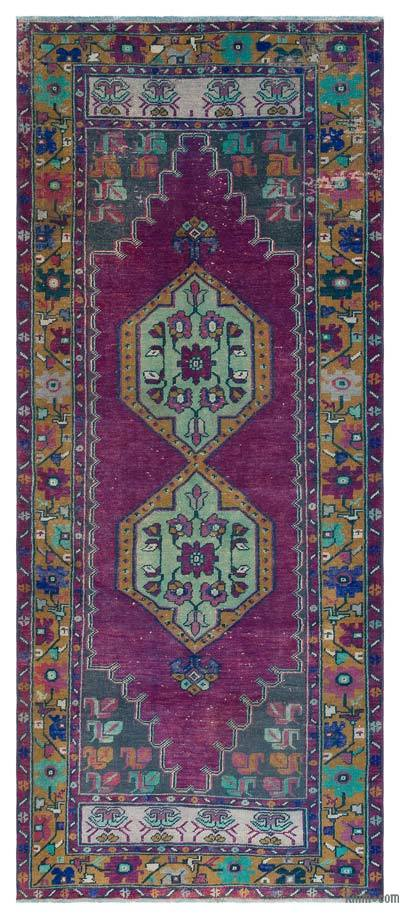 """Turkish Vintage Area Rug - 3'7"""" x 8'5"""" (43 in. x 101 in.)"""