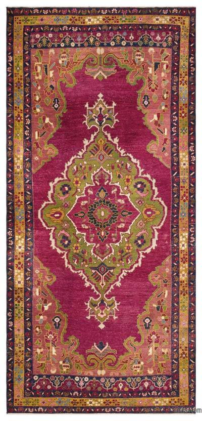 """Turkish Vintage Area Rug - 4'9"""" x 10' (57 in. x 120 in.)"""