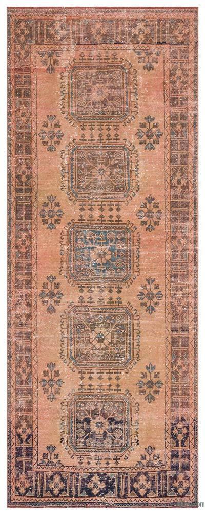 Vintage Anadolu Yolluk - 136 cm x 341 cm