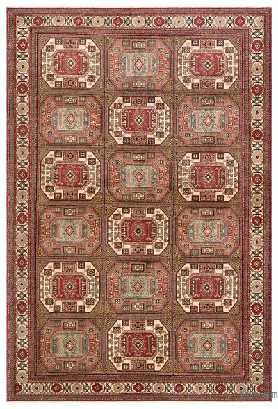 """Turkish Vintage Area Rug - 6'4"""" x 9'6"""" (76 in. x 114 in.)"""