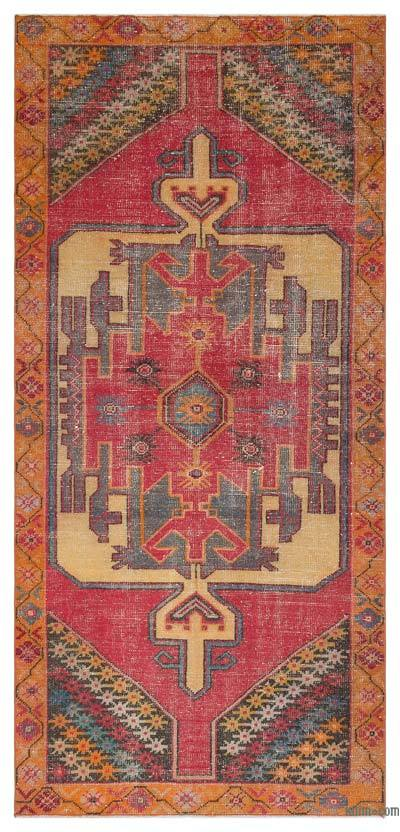 """Turkish Vintage Area Rug - 4' x 8'7"""" (48 in. x 103 in.)"""
