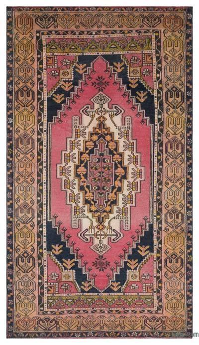 El Dokuma Vintage Halı - 137 cm x 246 cm