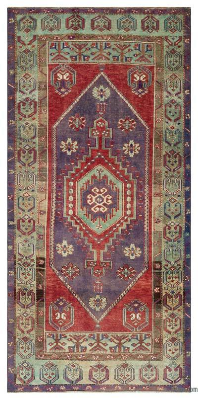 """Turkish Vintage Area Rug - 4' x 8'2"""" (48 in. x 98 in.)"""