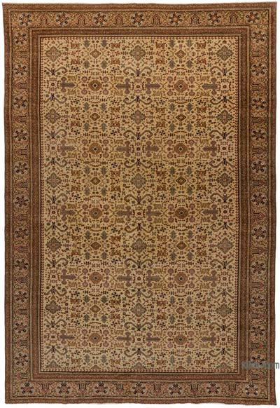"Turkish Vintage Area Rug - 6'5"" x 9'4"" (77 in. x 112 in.)"
