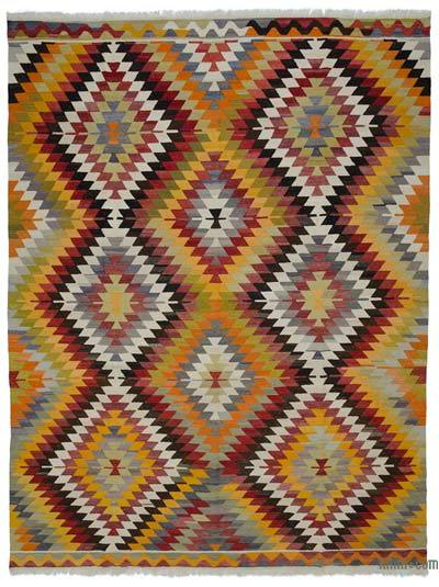 "New Turkish Kilim Rug - Vintage Yarn - 9' 10"" x 12' 10"" (118 in. x 154 in.)"