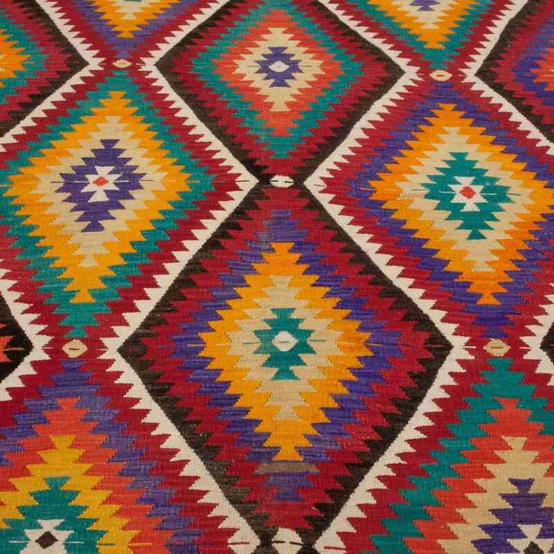 Çok Renkli Antalya Kilimi - 166 cm x 298 cm - K0044837