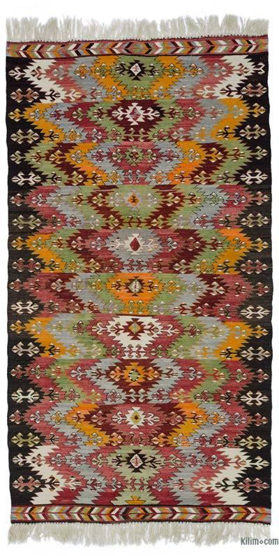 Çok Renkli Antalya Kilimi - 165 cm x 306 cm
