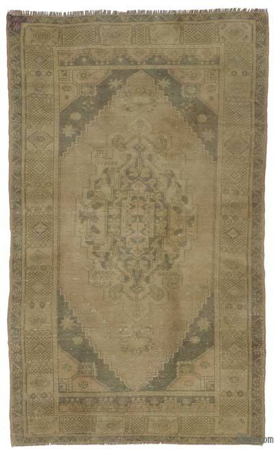 "Turkish Vintage Area Rug - 3' 11"" x 6' 8"" (47 in. x 80 in.)"