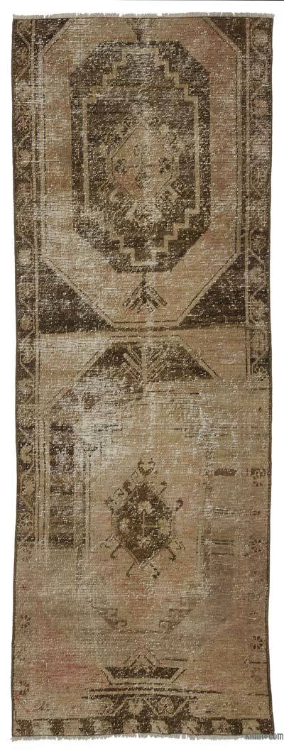 "Turkish Vintage Runner - 2' 9"" x 7' 9"" (33 in. x 93 in.)"