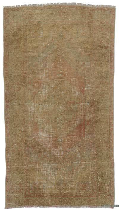 "Turkish Vintage Area Rug - 3'4"" x 6'2"" (40 in. x 74 in.)"