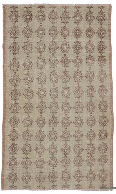 """Vintage Turkish Hand-Knotted Rug - 4' 2"""" x 6' 11"""" (50 in. x 83 in.)"""