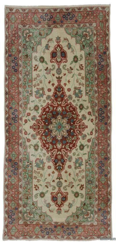 Alfombra Turca Vintage - 114 cm x 241 cm