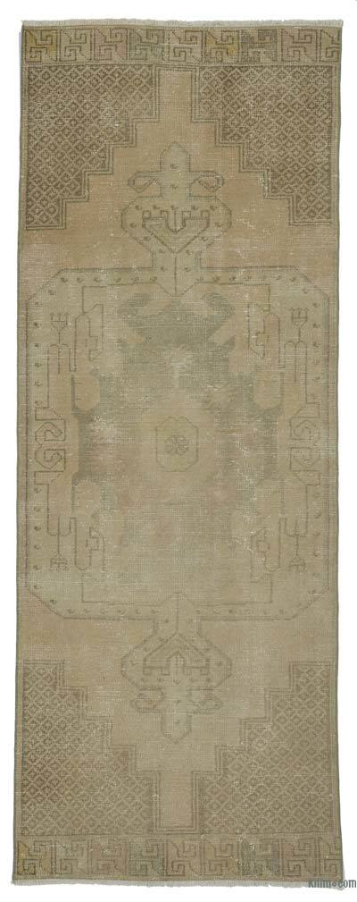 "Vintage Turkish Runner Rug - 3' 3"" x 8' 8"" (39 in. x 104 in.)"