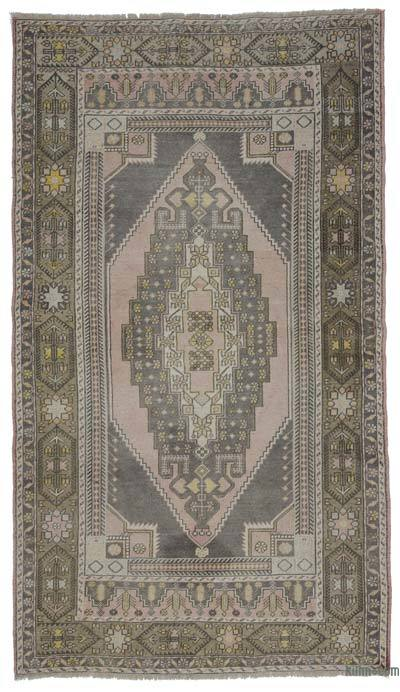"Turkish Vintage Area Rug - 5' 5"" x 9' 3"" (65 in. x 111 in.)"