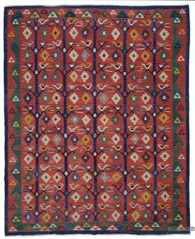 "New Turkish Kilim Rug - 8'7"" x 10'6"" (103 in. x 126 in.)"