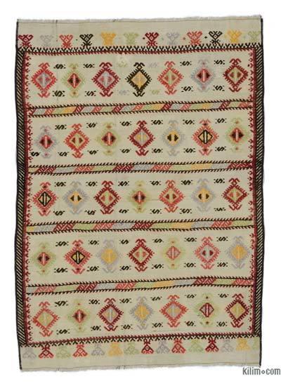 Alfombra Vintage Konya Kilim - 94 cm x 133 cm