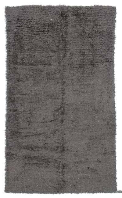 Grey Vintage Anatolian Tulu Rug