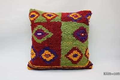 "Tulu Pillow Cover - 1'8"" x 1'8"" (20 in. x 20 in.)"