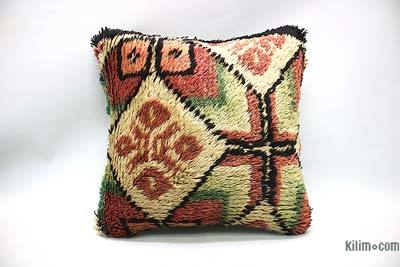 "Tulu Pillow Cover - 1' 4"" x 1' 4"" (16 in. x 16 in.)"
