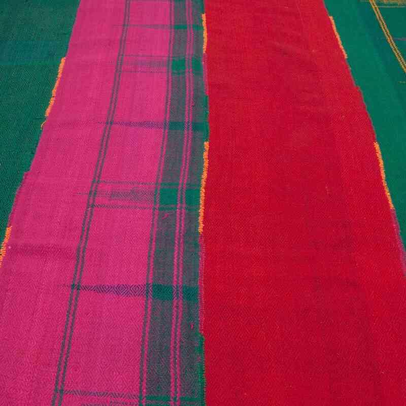 "Multicolor Vintage Malatya 'Perde' - 6' 4"" x 11' 2"" (76 in. x 134 in.) - K0047083"